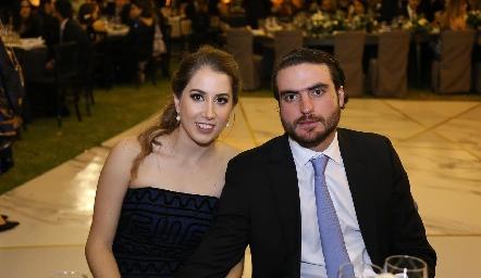 Mónica Torres y Manuel Saiz.