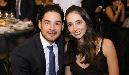Miguel Torres y Mariana Alcalá.