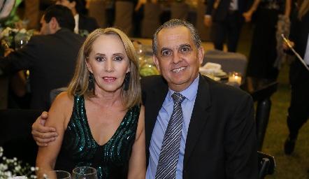 Laura Lavín y Fernando Díaz de León.
