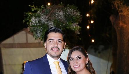 Luis Portugal y Ana Sofía Rodríguez.