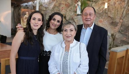 Familia Escartín Ortiz.