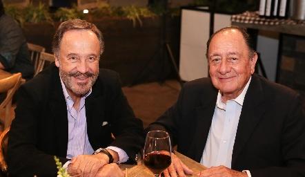 José Luis Lozano y Ezequiel Escartín.