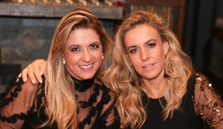 Lili Abud y Mónica Torres.