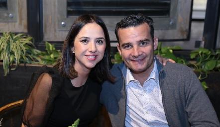 Charo Ortuño y Carlos Rebolledo.