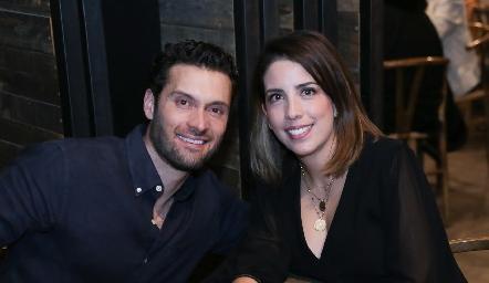 Andrés e Itzel Medina.