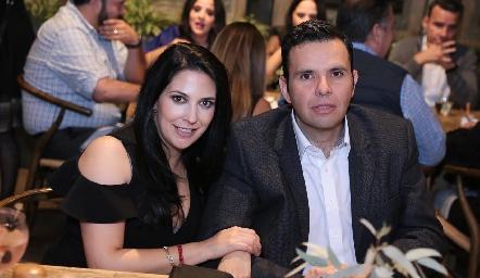 Paty Guerrero y José Tanus.