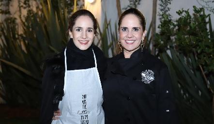 Dany Mina y Gabriela Payán.
