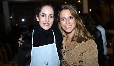 Dany Mina y Paulina Aguirre.