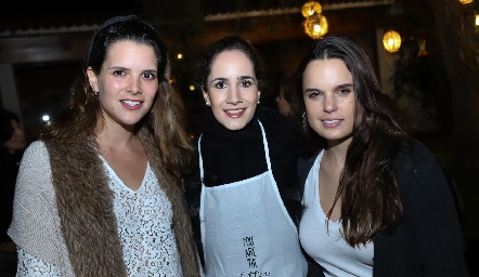 Jessica Martín Alba, Dany Mina y Maite Soberón.