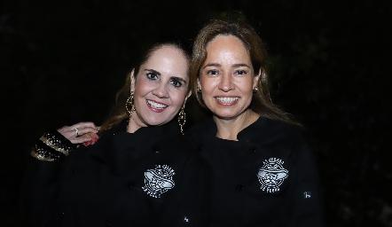 Gabriela Payán y Ana Luisa Acosta.