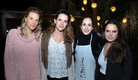 Benilde Hernández, Jessica Martín Alba, Dany Mina y Maite Soberón.