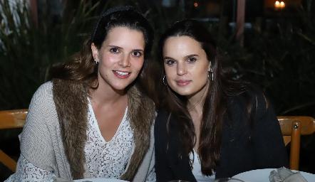 Jessica Martín Alba y Maite Soberón.