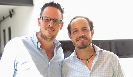 Rodrigo Ruiz y Octavio Aguillón.