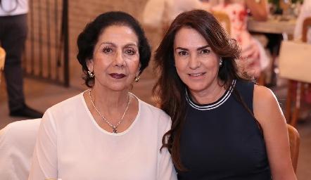 Nena Torres Corzo y Leticia Gutiérrez.