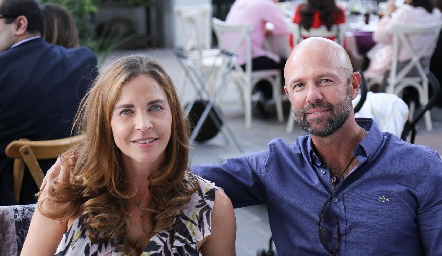 Lourdes Amador y Werner Heinze.
