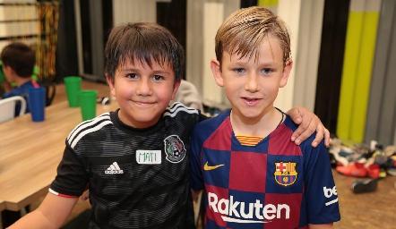 Emilio y Andrés.