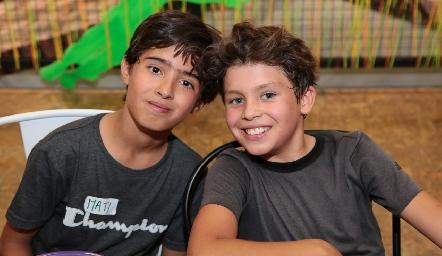 Joaquín y Luis Manuel.