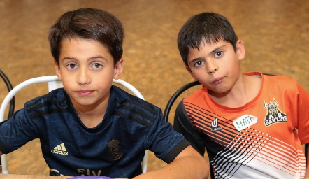 Rodrigo y Gonzalo .