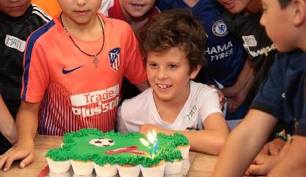 Cumpleaños de Mateo.