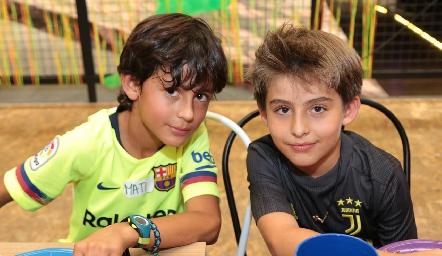 Matías y Diego.