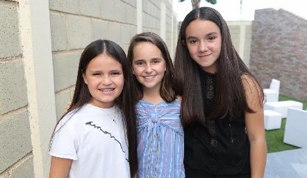 Cami Lomas, Priscila y Cami.