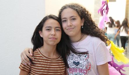 Vale Lomas y Bárbara Lafuente.