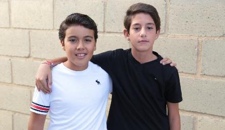 Salvador Orozco y Paulo Alcalde.