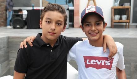 Arturo Payan y Emiliano Delsol.