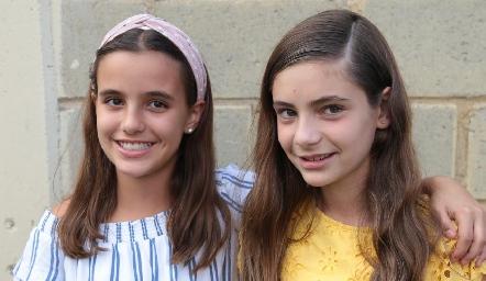 Lourdes y Cayetana.