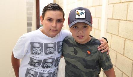 Juan Pablo y Pepe.