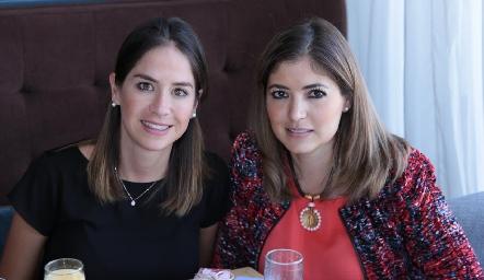 Mariana Ortuño y Dora Díaz Dibildox.