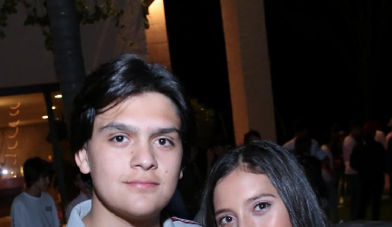 Mario Macías y Sofía Monzón.