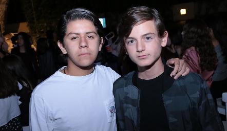 Patricio Ojeda y Patricio Sarquis.
