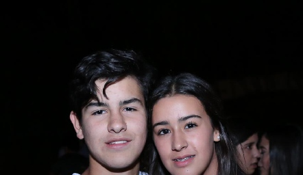 Diego Gómez e Isa Gutiérrez.