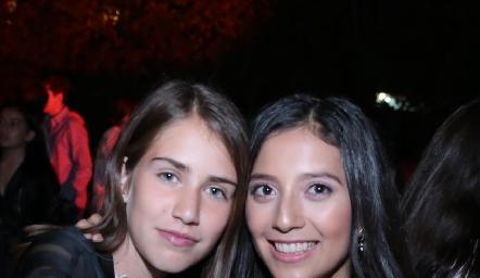 María Emilia Díaz y Sofía Monzón.