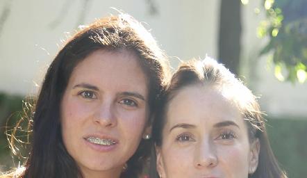 Daniela de la Fuente y Pituca Escartín.