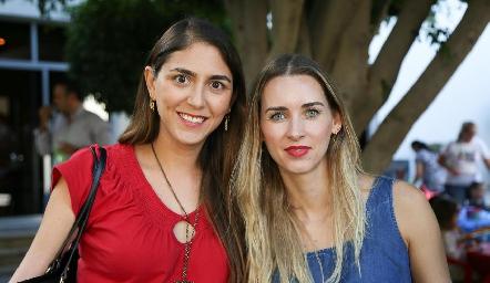 Fernanda Valdes y Daniela Borbolla.