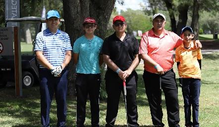 Torneo de Golf del Club Rotario.