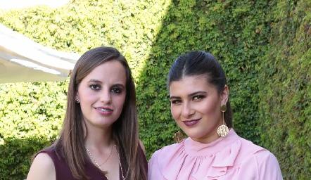 Las festejadas, Marisa Michel y Ana Sofía Díaz.