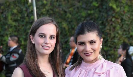 Marisa y Ana Sofía.