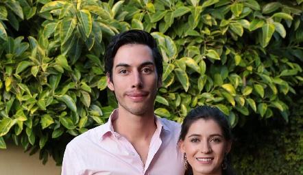 Alfonso Rojas y Mariana Cervera.