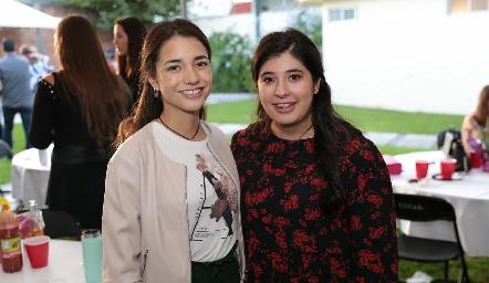 Daniela Borunda y Vera Gómez.