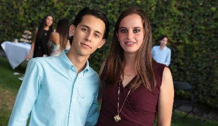 Jesús Hernández y Marisa Michel.