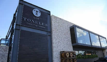 Inauguración de Los Toneles Zona Industrial.