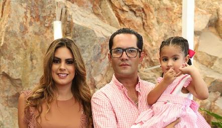 Bárbara, Fernando, Bárbara y Fer.