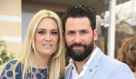 Sofía Ruiz y Gilberto Luna.