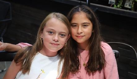 Anabela Mercado y María Emilia Cordero.
