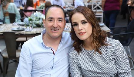 Carlos Valdés y María Sotomayor.