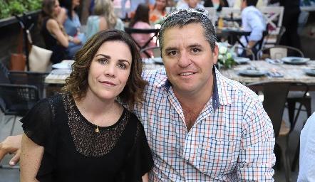 Ada Azcona y Juan Malo.