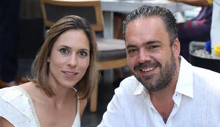 Begoña Martínez y Miguel Apezteguía.